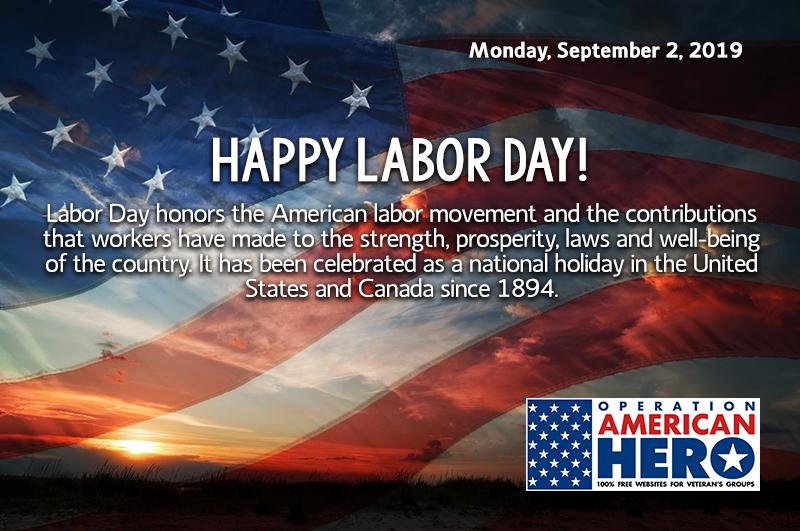 Labor Day, Operation American Hero