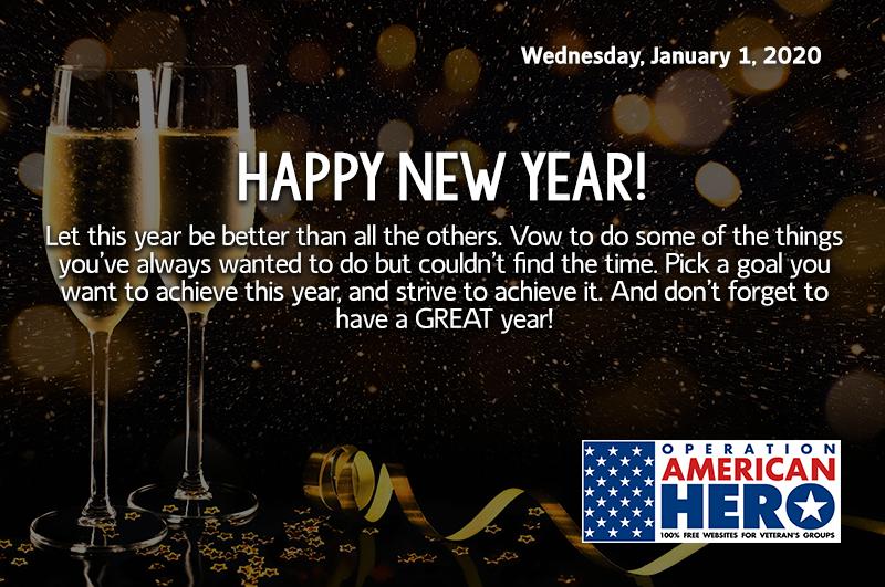 Happy New Year, Operation American Hero